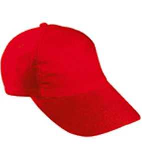 5dd6cb209e8 MYRTLE BEACH · 5 panelová šiltovka (MB 5 Panel Kids  Cap) červená ...