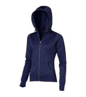 7e4895df6b9 Dámska mikina (ELEVATE Moresby Hooded Full Zip Ladies Sweater)   modrá(navy)
