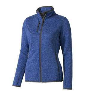 49e55397937 Dámska mikina (ELEVATE Tremblant Knit Jckt Lds)   modrá (heather)   M