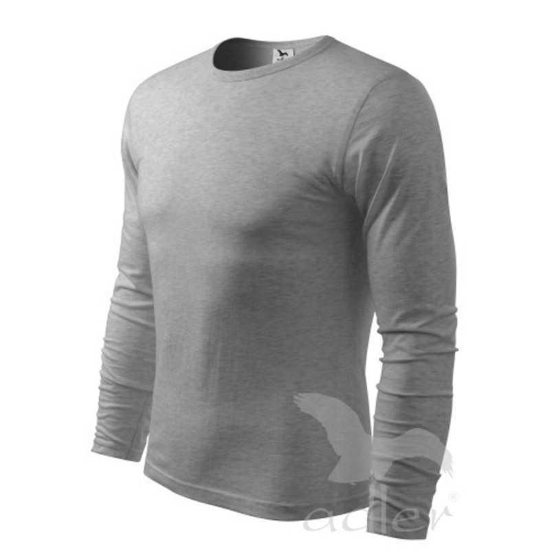 83c95cd5a Pánske tričko (ADLER Fit-T Long Sleeve 160) > sivá (tmavo) > S ...