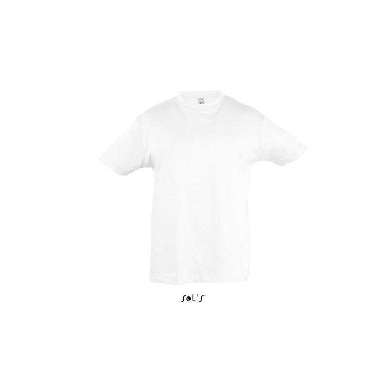 63c24163bc9c Detské tričko (SOLS REGENT KIDS ROUND COLLAR T-SHIRT)   biela   4a ...