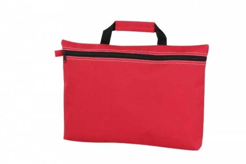 cab1ae9fb6 Taška na dokumenty   červená - REPRE - reklamné predmety