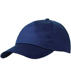 5 panelová šiltovka (MB 5 Panel Promo Cap lightly laminated)>modrá (navy)