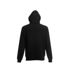 2beb34582a8 Pánska mikina (FRUIT OF THE LOOM Hooded Sweat Jacket ) čierna L