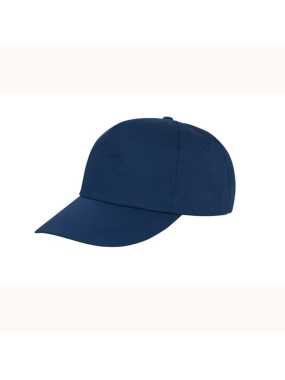 5 panelová šiltovka (RESULT Houston 5-Panel Printers Cap)>modrá (navy)