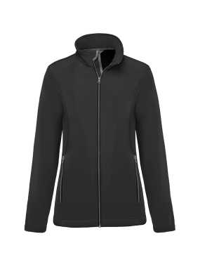Dámska bunda(KARIBAN LADIES' 2-LAYER SOFTSHELL JACKET)>šedá (titanium)>M