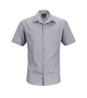 Pánska košeľa (JN Mens Business Shirt Shortsleeve) > šedá (steel) > M