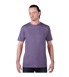 Pánske tričko (ANVIL ADULT SUSTAINABLE TEE) > purpurová (heather) > L