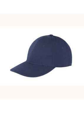 6 panelová šiltovka (RESULT Memphis Brushed Cotton Low Profile Cap)>modrá (navy)