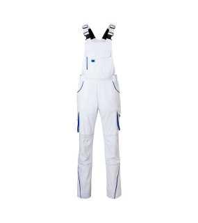 2f872fc22a4a Pánske pracovné nohavice(JN Workwear Pants with Bib-Level 2) biela