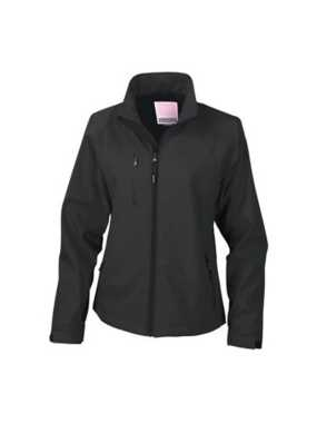 Dámska bunda (RESULT LA FEMME® BASE SOFT SHELL JACKET)>čierna>S
