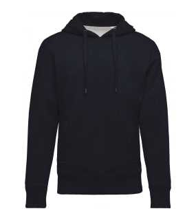 Pánska mikina (Kariban MEN'S ORGANIC HOODED SWEATSHIRT) > modrá (french navy heather) > L