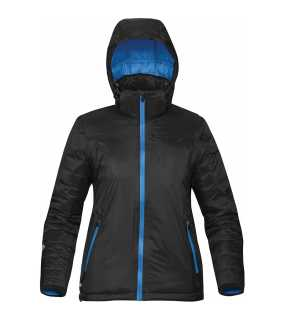 Dámska bunda(STORMTECH W'S BLACK ICE THERMAL JACKET)>čierna / modrá (electric)>M