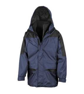 Unisex bunda (RESULT ALASKA 3-IN-1 JACKET)>modrá (navy) / čierna>3XL