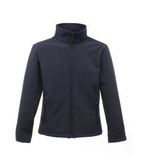 Pánska bunda (REGATTA CLASSIC 3 LAYER SOFTSHELL) > modrá (navy) / šedá (seal) > S