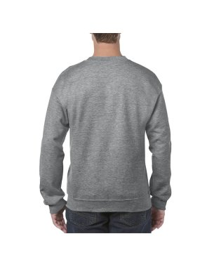 Unisex mikina (GILDAN ADULT CREWNECK SWEATSHIRT)>šedá (graphite heather)>2XL