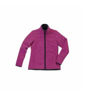 Dámska fleece bunda (STEDMAN Active Teddy Fleece Jacket) > ružová (cupcake) > M