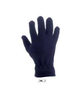 Zimné rukavice (SOLS IGLOO UNISEX FLEECE GLOVES) > modrá (frenchnavy) > S/M