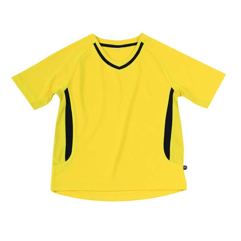 44e6fe417ddb Detské športové tričko (JN Team-T Junior) žltá   čierna L - REPRE ...