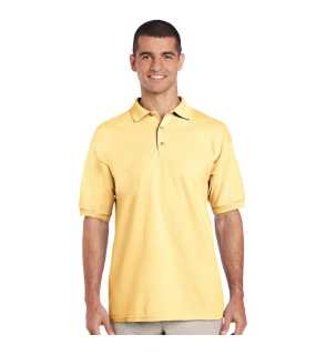 Unisex polokošeľa (GILDAN ULTRA COTTON ADULT PIQUE POLO) > žltá (haze) > S
