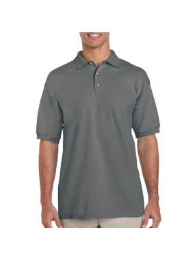 Unisex polokošeľa (GILDAN ULTRA COTTON ADULT PIQUE POLO) > šedá (charcoal) > L