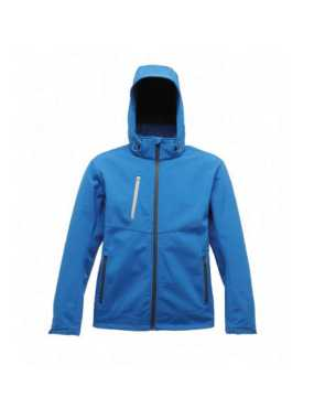 Pánska bunda (DROPZONE 3 LAYER SOFTSHELL) > modrá (oxford) / šedá (seal) > S