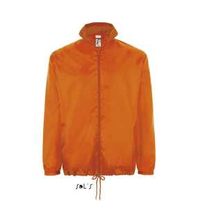 Unisex bunda(SOL'S SHIFT UNISEX WATERPROOF WINDBREAKER)>oranžová>M