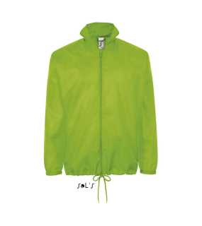 Unisex bunda(SOL'S SHIFT UNISEX WATERPROOF WINDBREAKER)>zelená (lime)>S