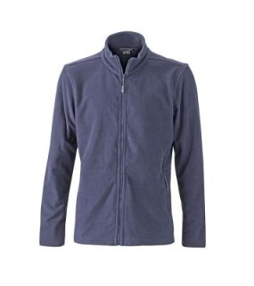Pánska fleece bunda(J&N MEN'S BASIC FLEECE JACKET)>modrá (navy)>XL