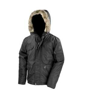 Unisex bunda (RESULT URBAN ULTIMATE STORM CYCLONE JACKET)>čierna>2XL