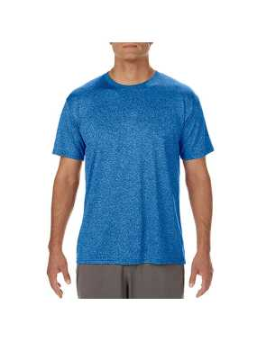 Pánske tričko(GILDAN PREFORMANCE® ADULT CORE T-SHIRT)>modrá (royal heather sport)>3XL