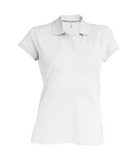 119b8e8133f8 Dámska polokošeľa ( Kariban Ladies Short Sleeve Pique Polo Shirt )   biela    L