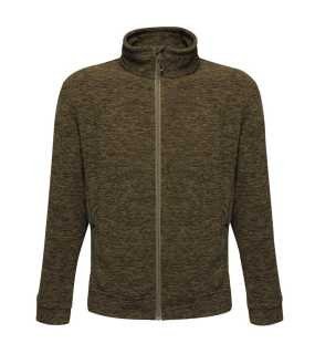 Pánska bunda (REGATTA THORNLY MEN - FULL ZIP MARL FLEECE) > khaki (dark marl) > L