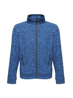 Pánska bunda (REGATTA THORNLY MEN - FULL ZIP MARL FLEECE)>modrá (navy marl)>S