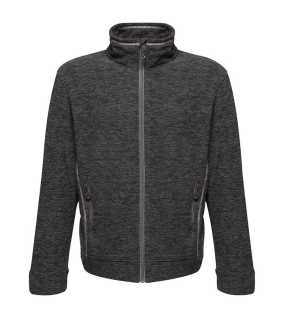 Pánska bunda (REGATTA THORNLY MEN - FULL ZIP MARL FLEECE) > šedá (seal marl) > XL