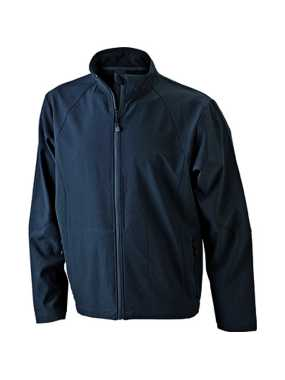 Pánska softshell bunda (JN Men's Softshell Jacket)>čierna>XL