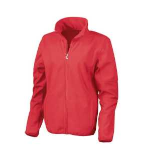 Dámska bunda (RESULT LADIES OSAKA SOFT SHELL JACKET)>červená>XS