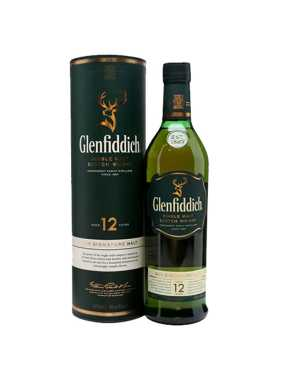 Glenfiddich Aged, 12 Years, whisky, Škótsko,40%, 0.7 L