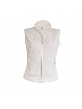 Dámska fleece vesta (KARIBAN LADIES MICRO FLEECE GILET) > prírodná (natural) > L