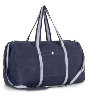 "Taška (Kimood""HOLD-ALL BAG IN COTTON CANVAS"")>modrá (washed titanium)"