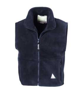 Detská vesta (RESULT YOUTH ACTIVE FLEECE BODYWARMER)>modrá (navy)>L