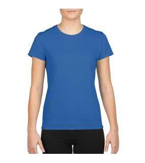 Dámske tričko (GILDAN ADULT WOMENS PERFORMACE T-SHIRT)   modrá (royal) fc7c66921d