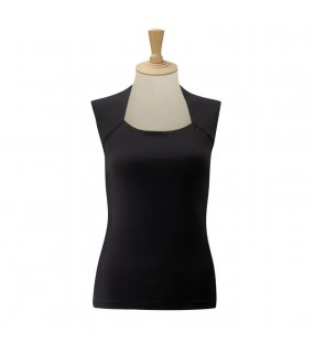 Dámsky top(Sleeveless Stretch Top RUSSELL)>čierna>M