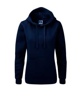 Dámska mikina (RUSSELL AUTHENTIC HOODED/W)>modrá (frenchnavy)>M