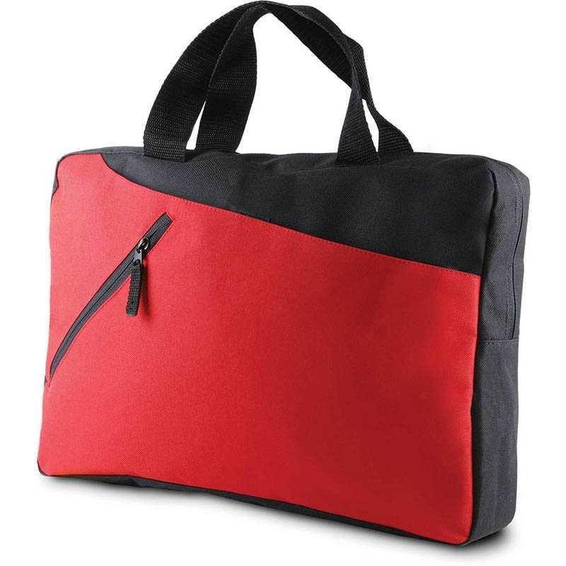 fa77c61e32 Taška na dokumenty (KIMOOD DOCUMENT BAG)   čierna   červená - REPRE ...