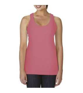 "Dámske tielko(Comfort Colors""LADIES' LIGHTWEIGHT RACERBACK TANK TOP"")>ružová(watermelon)>S"