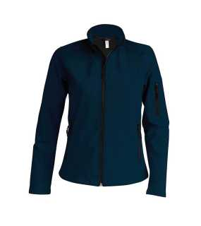 Dámska softshell bunda (KARIBAN LADIES SOFTSHELL JACKET) > modrá (navy) > M