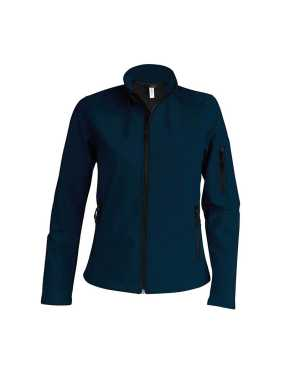 Dámska softshell bunda (KARIBAN LADIES SOFTSHELL JACKET) > modrá (navy) > 2XL