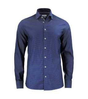e4bf458bf Pánska košeľa (James Harvest PURPLE BOW 49 REGULAR FIT) > modrá (navy)