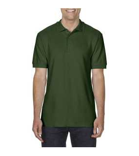 Pánska polokošeľa (GILDAN COTTON ADULT DOUBLE PIQUÉ POLO) > zelená (forest) > L